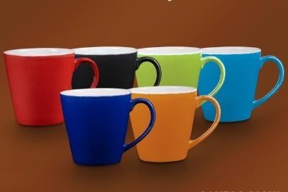 Jogo de 6 Canecas Flat Color 300ml  Yoi