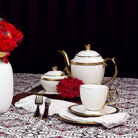 Jogo de Chá em Porcelana Paddy 3pc