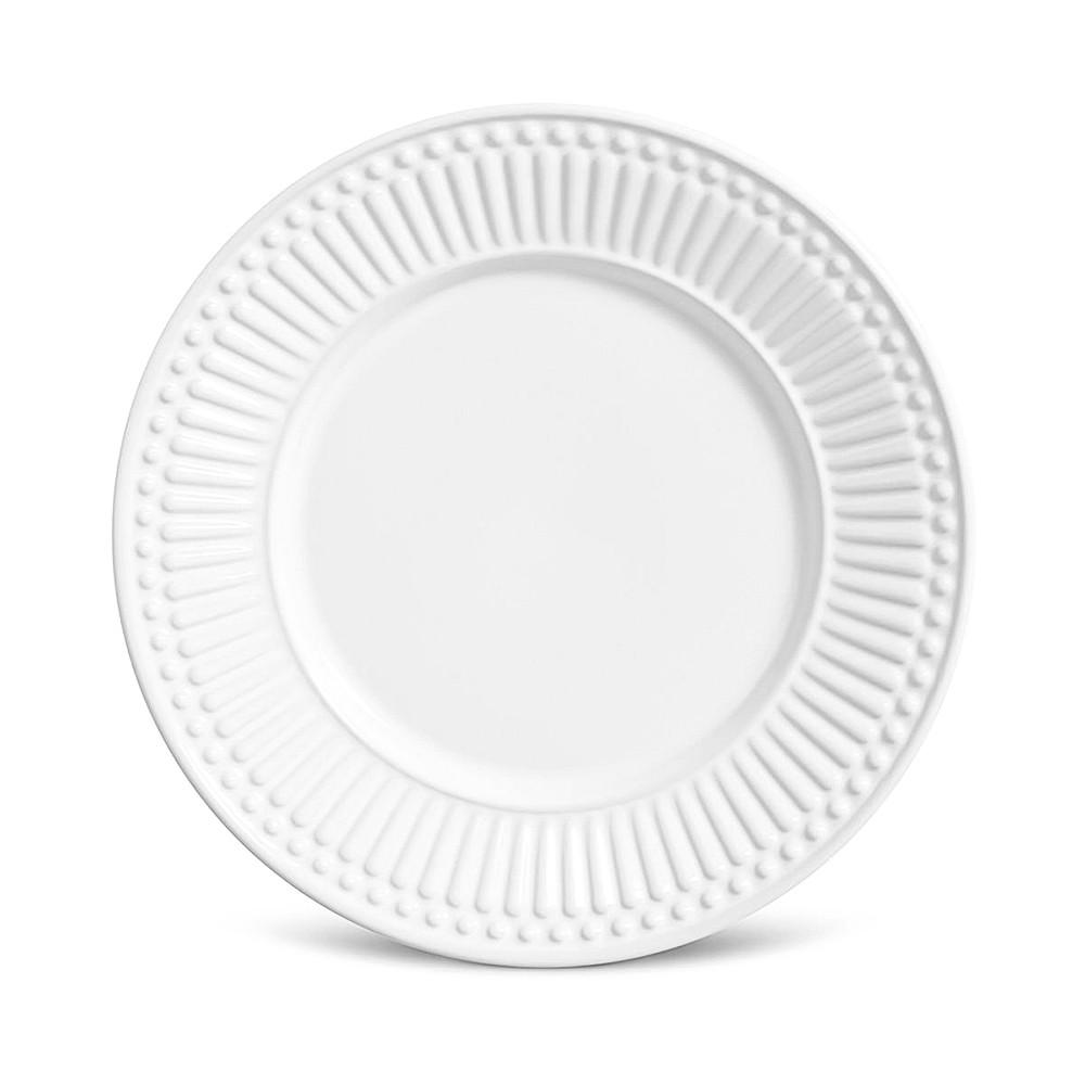Jogo de Jantar Roma Branco 22pçs - Porto Brasil