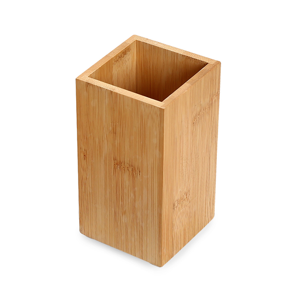 Kit para Banheiro em Bambu - 03 pçs com bandeja