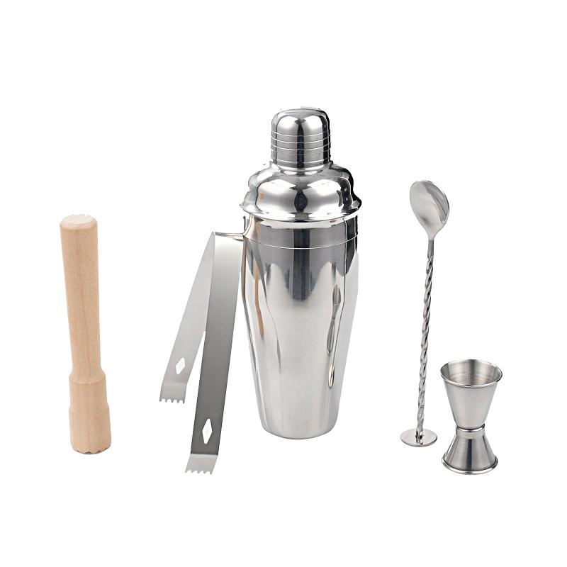 Kit para Bar em inox Cocktail Collection 5pçs - Kenya