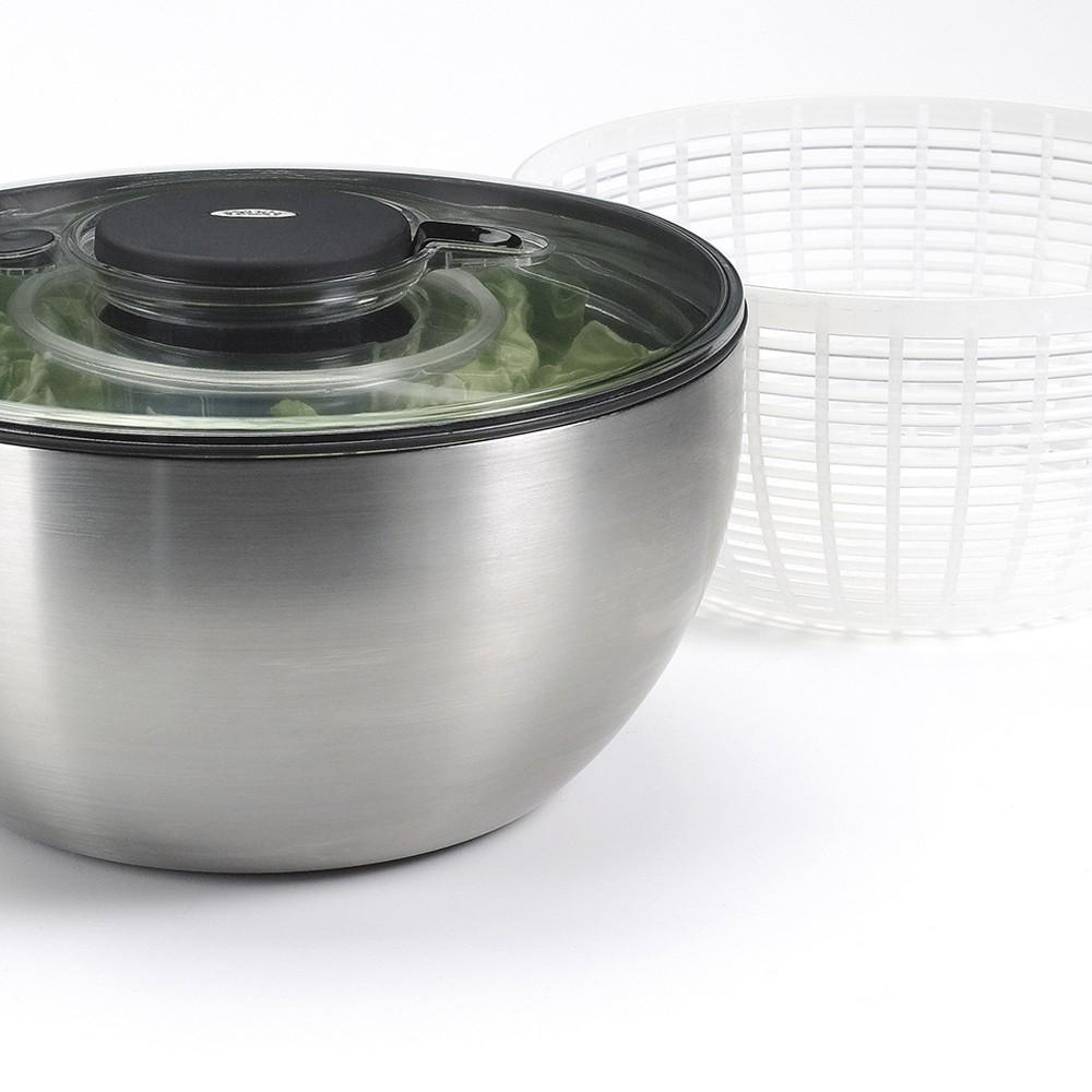 Lava e Seca Saladas em Aço Inox 5L OXO