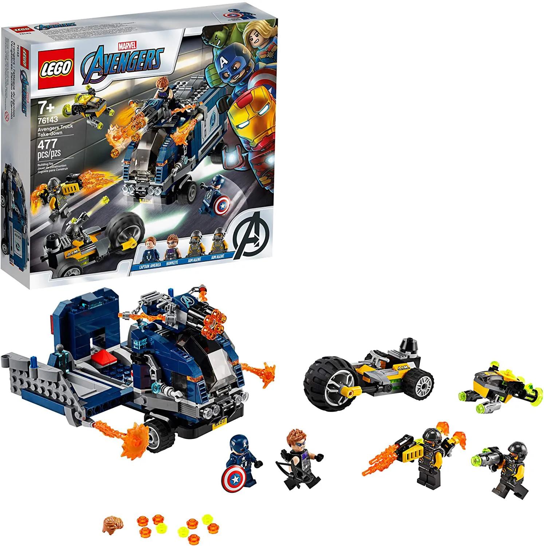 LEGO Super Heroes - Ataque de Caminhão dos Vingadores