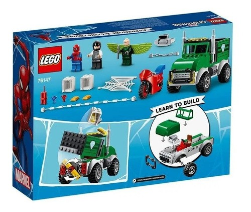 LEGO Super Heroes - O Assalto ao Caminhoneiro de Vulture
