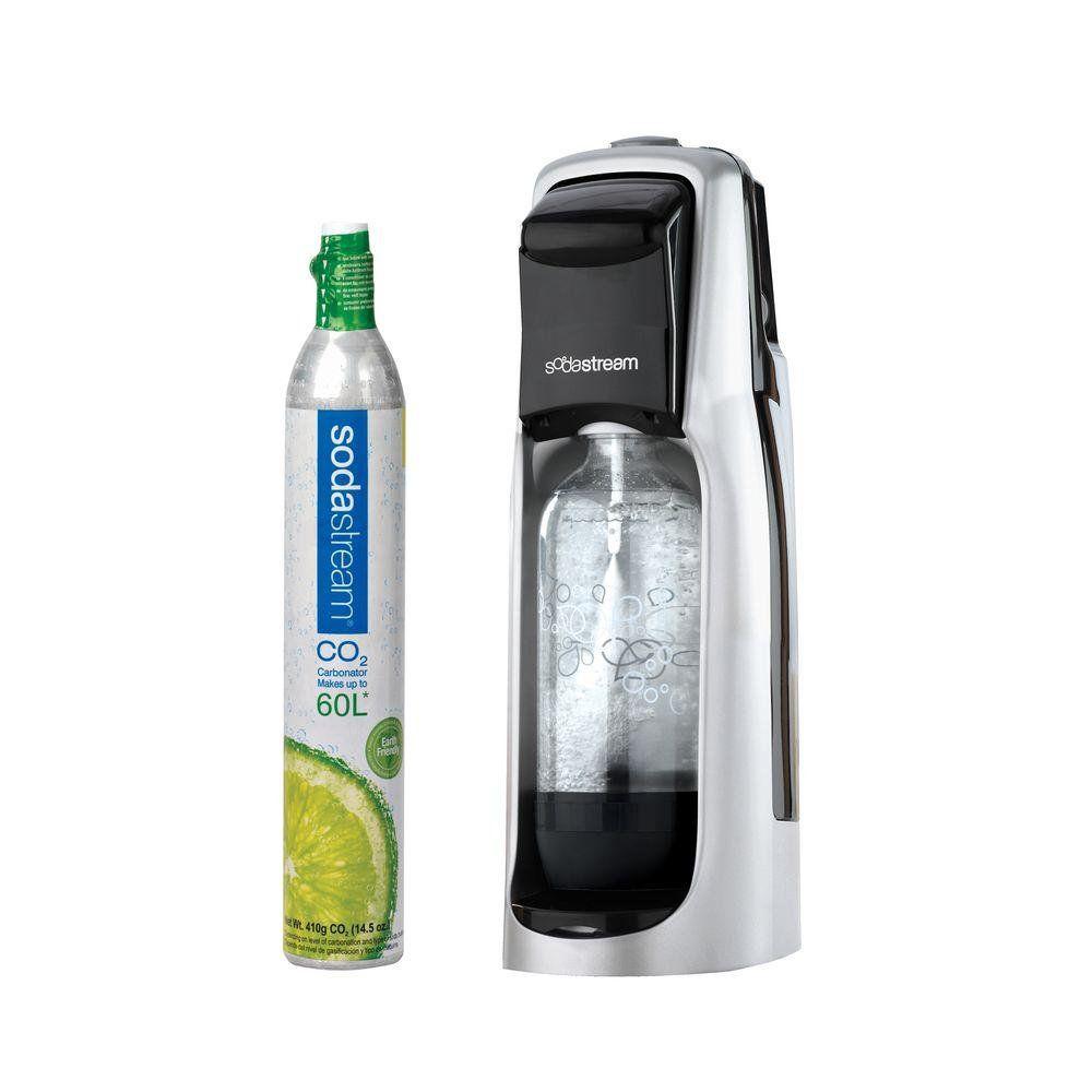 Maquina de Bebida Sodastream Jet com Dioxido de Carbono 2.2