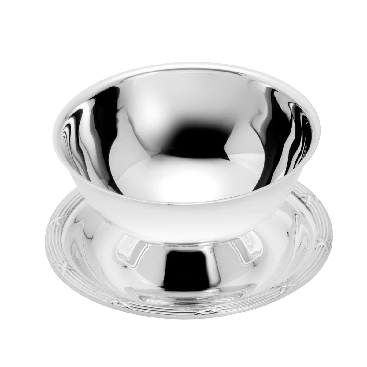 Molheira de Prata com Cordão Croise 450ml
