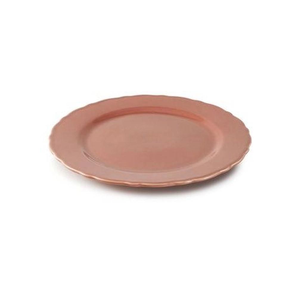 Prato para Bolo Marrakech Pimenta-Rosa Panelinha - Porto Brasil