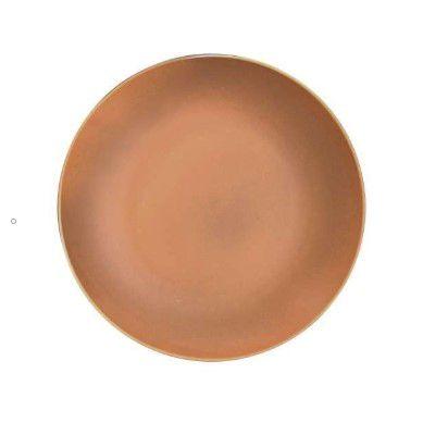 Prato Sobremesa Terracota 20cm (peça) - Imperial