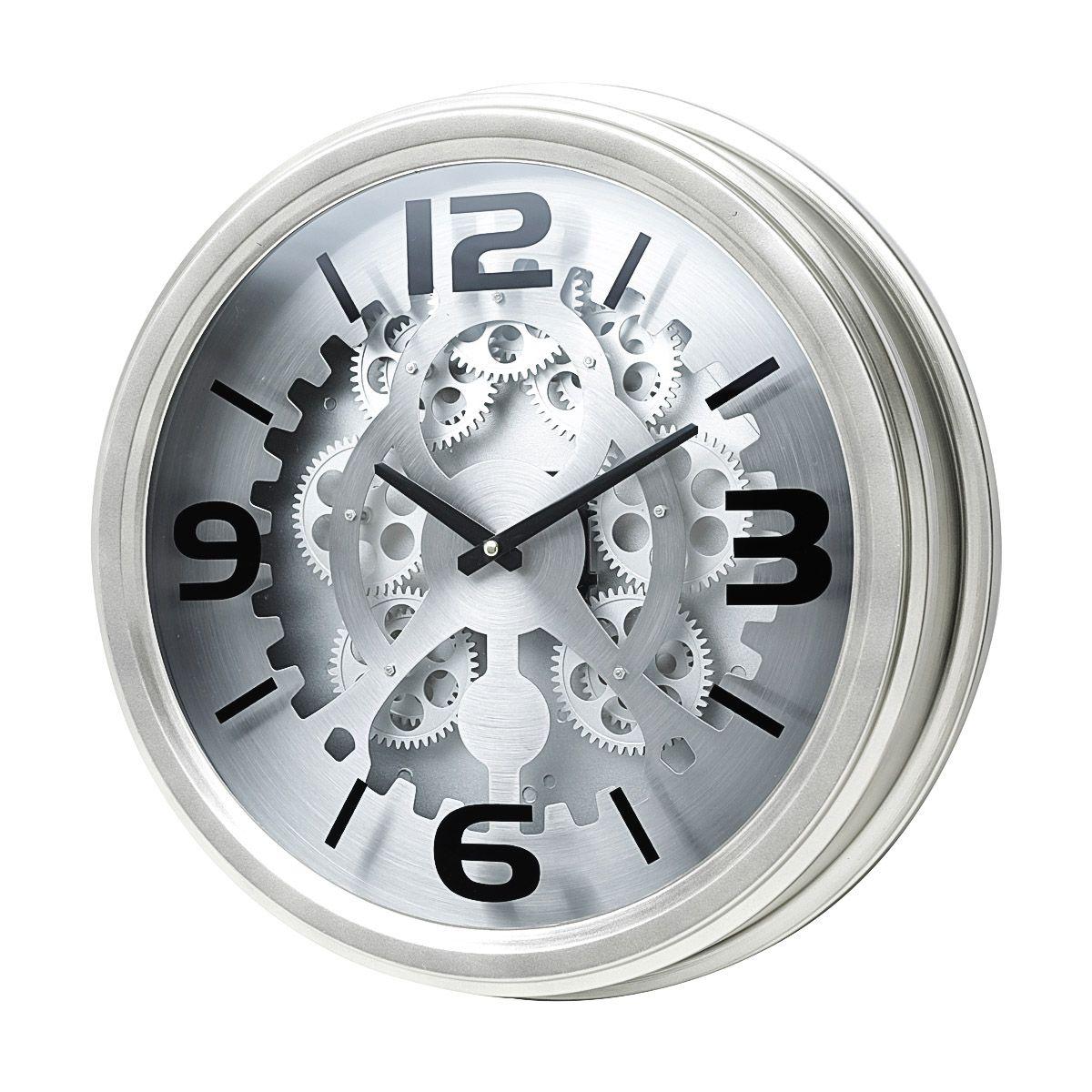 Relógio Decorativo De Parede 43x9cm