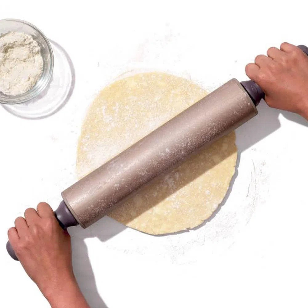 Rolo para Massa em Inox Antiaderente 53cm - OXO