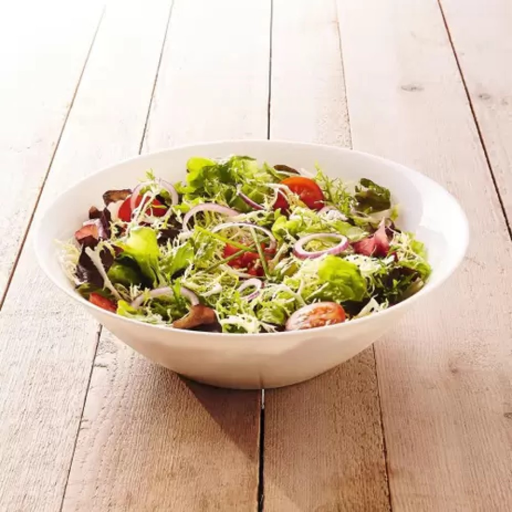 Saladeira / Bowl Carine em Vidro Branco 2,4L (27cm) - Luminarc