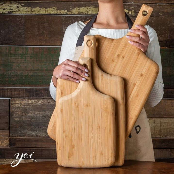 Tábua de Bambu Paddle 58x28x1,9cm - Tyft