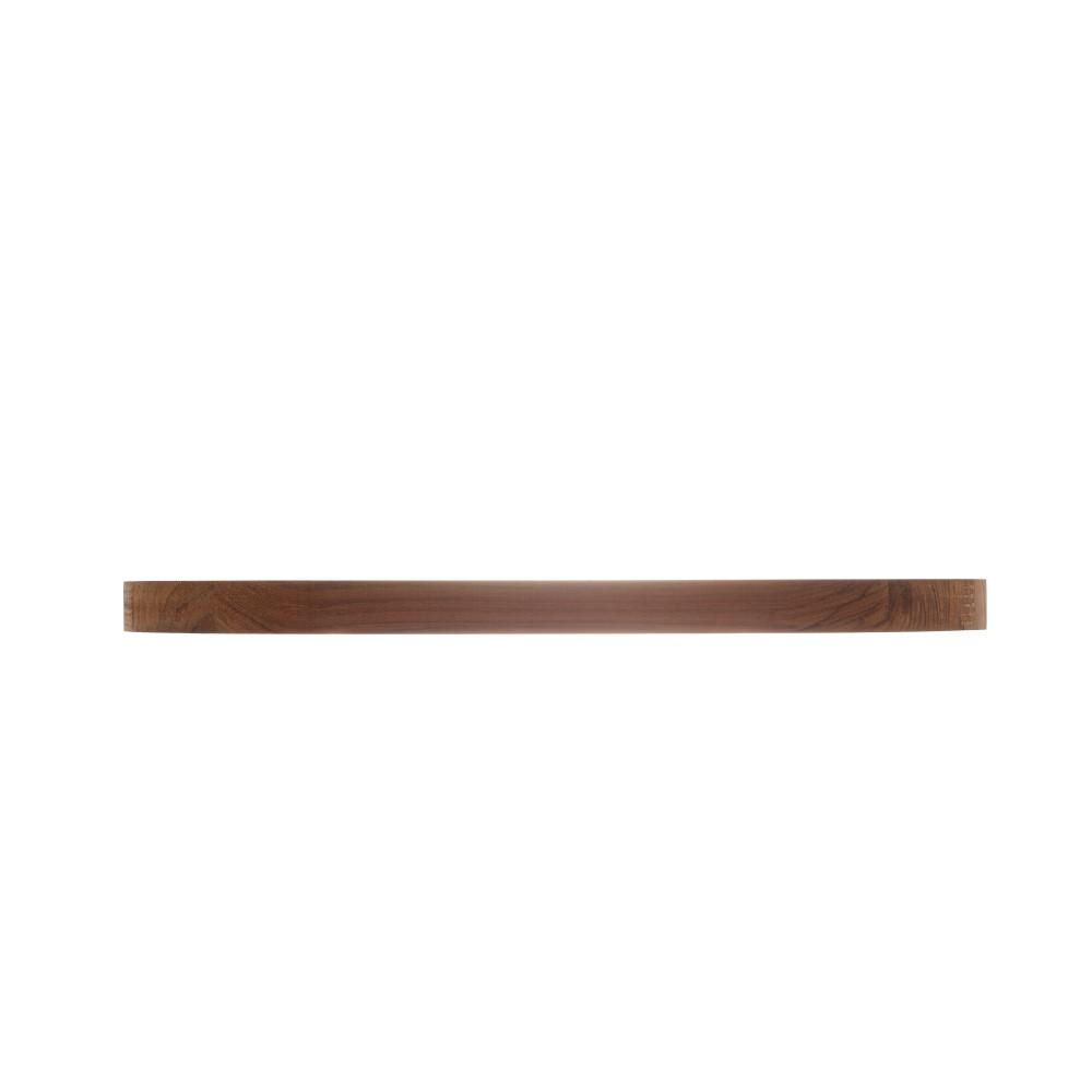 Tábua Oval para pão (Migalheira) em Madeira Teca (43x23cm)