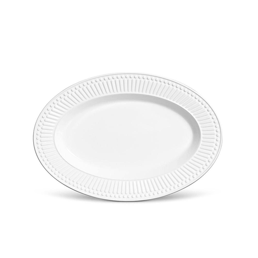 Travessa Roma Média Branco 36 x 24,5 cm - Porto Brasil
