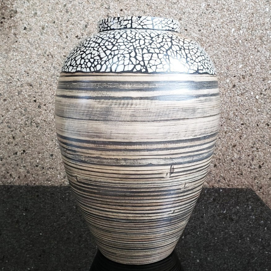 Vaso de Bambu M 34x24cm