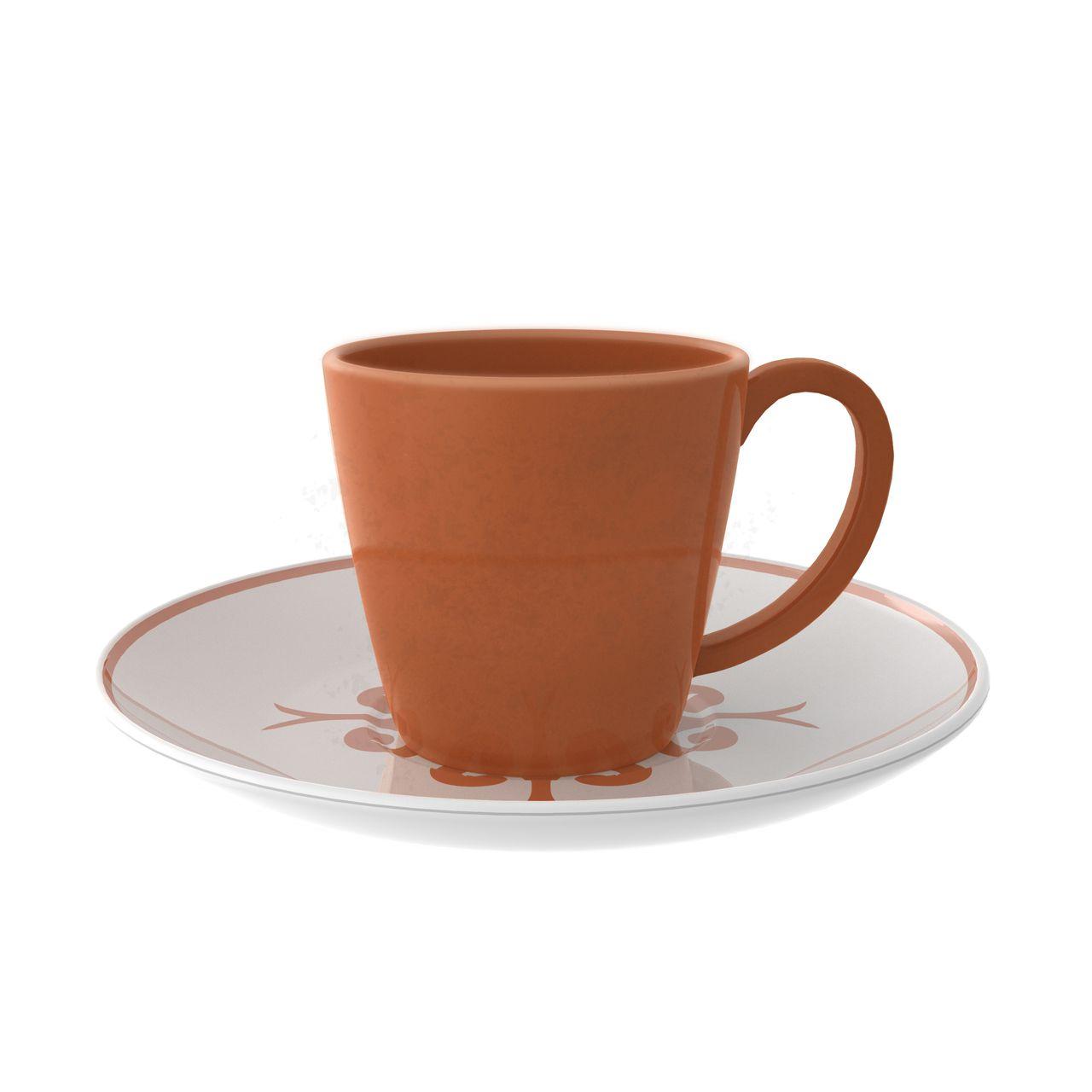Xícara de Café com Pires Imperial