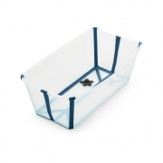 Banheira Flexível Azul Plug Térmico - Stokke