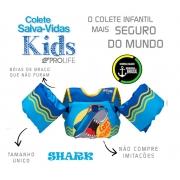 Colete Salva-Vidas Infantil Homologado - Shark