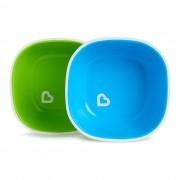 Conjunto de Tigelas Azul e Verde - 2 unidades