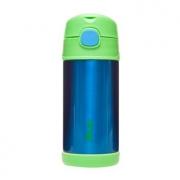 Garrafa Térmica Inox Azul e Verde - Clingo