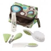 Kit Completo de Higiene e Beleza (10 peças) Verde - Safety 1st.