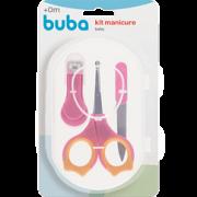 Kit Manicure Rosa - Buba