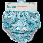 Sunga Reutilizável Tubarão Tam. G - Buba