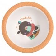 Tigela Bowl Infantil Em Bambu Les Jolis Urso - Moulin Roty