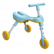 Triciclo Dobrável  - Azul, Rosa e Vermelho