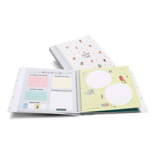 Álbum do Bebê Bichinhos Cinza - Colore
