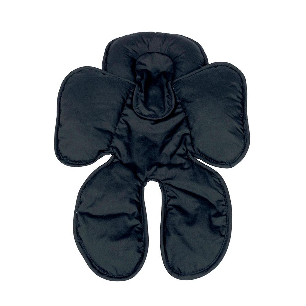 Almofada para Bebe Conforto Cinza/Preto - Clingo