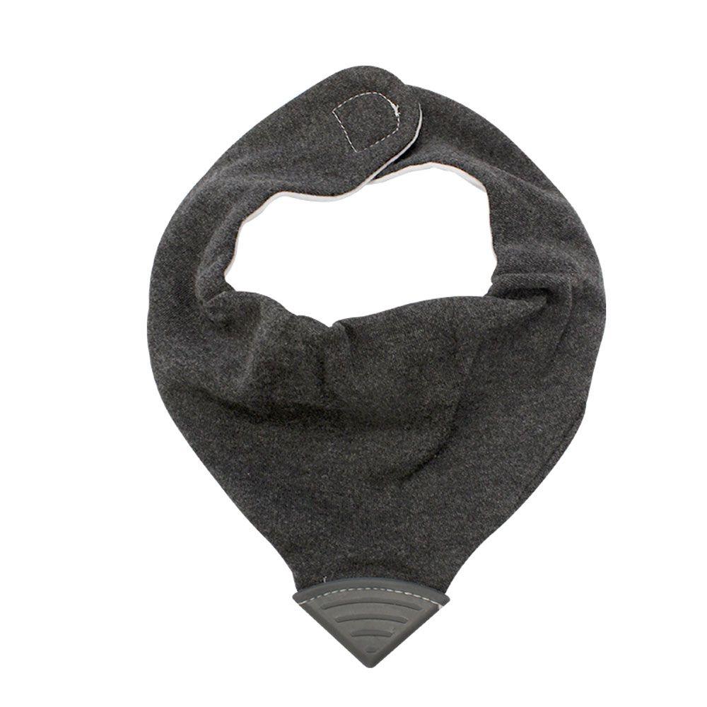 babador bandana preto com mordedor