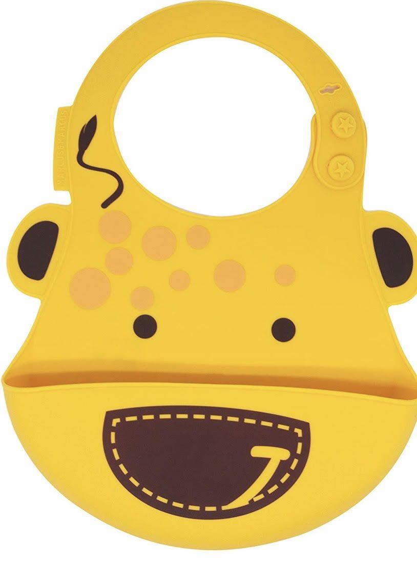 Babador em silicone Girafa