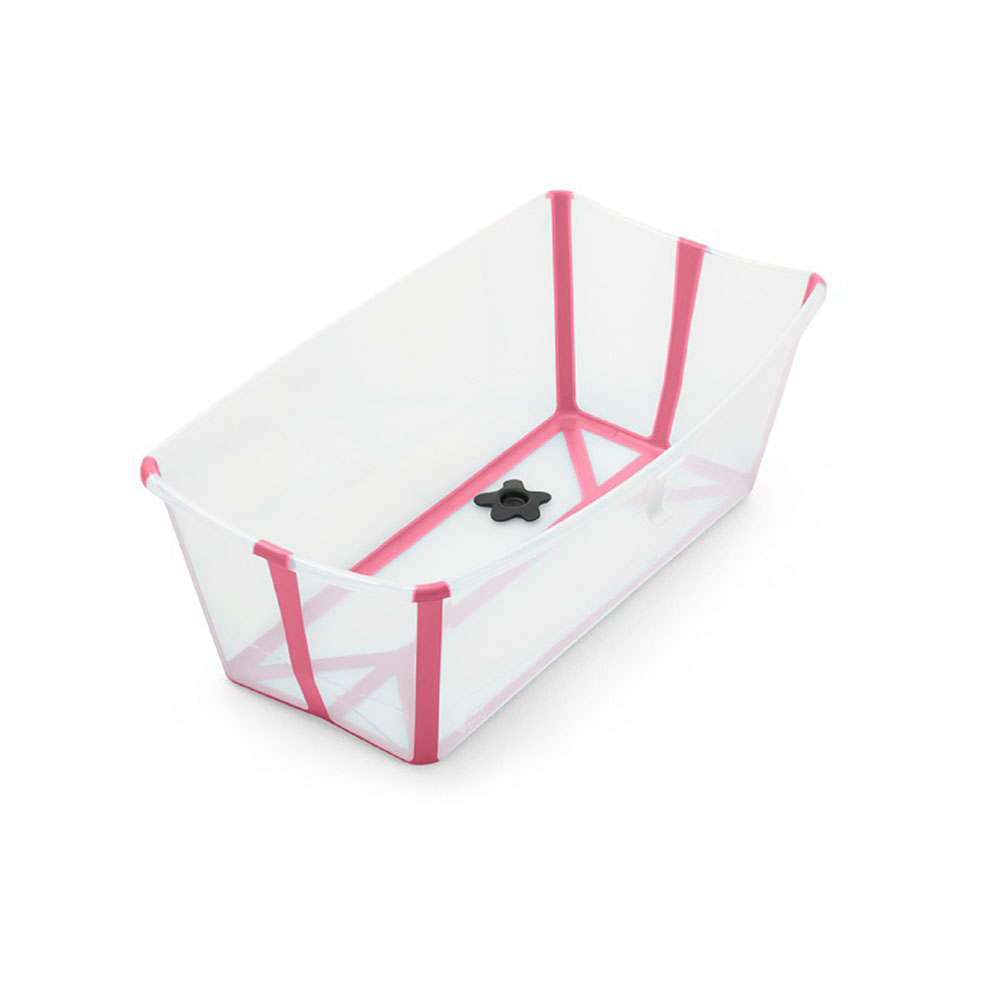 Banheira Flexível Rosa Plug Térmico - Stokke