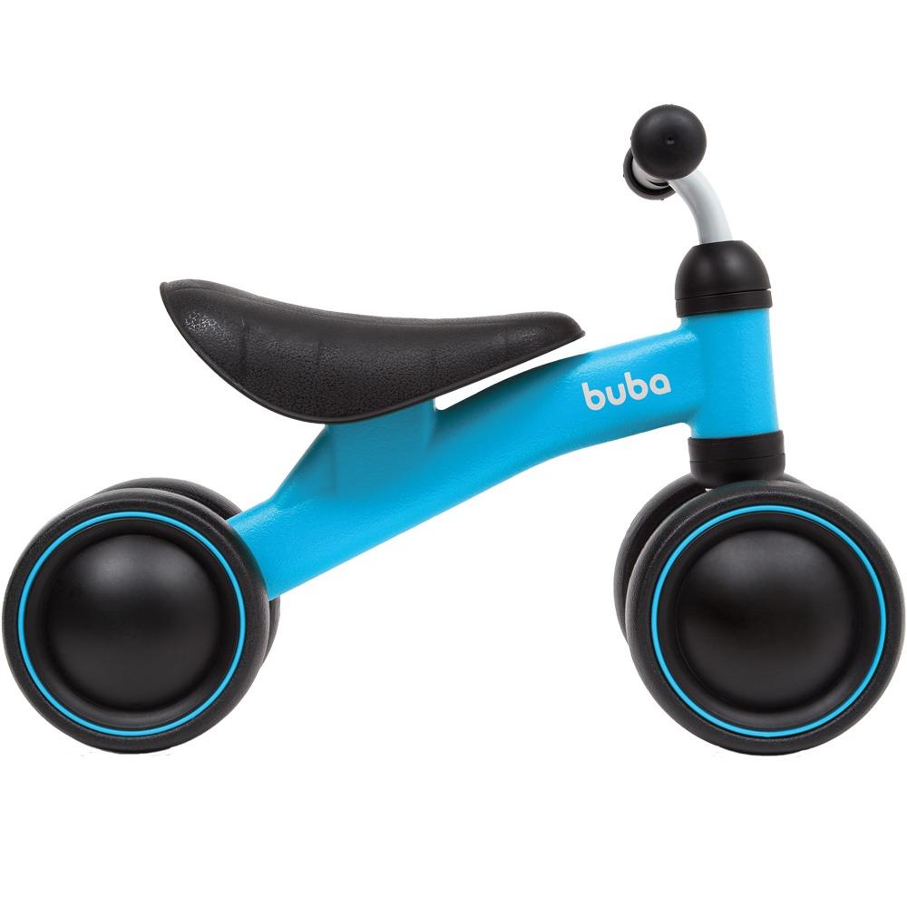 Bicicleta de Equilíbrio 4 rodas Azul - Buba