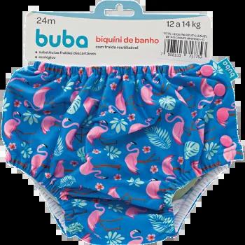 Biquini Reutilizável Flamingo Tam. G - Buba