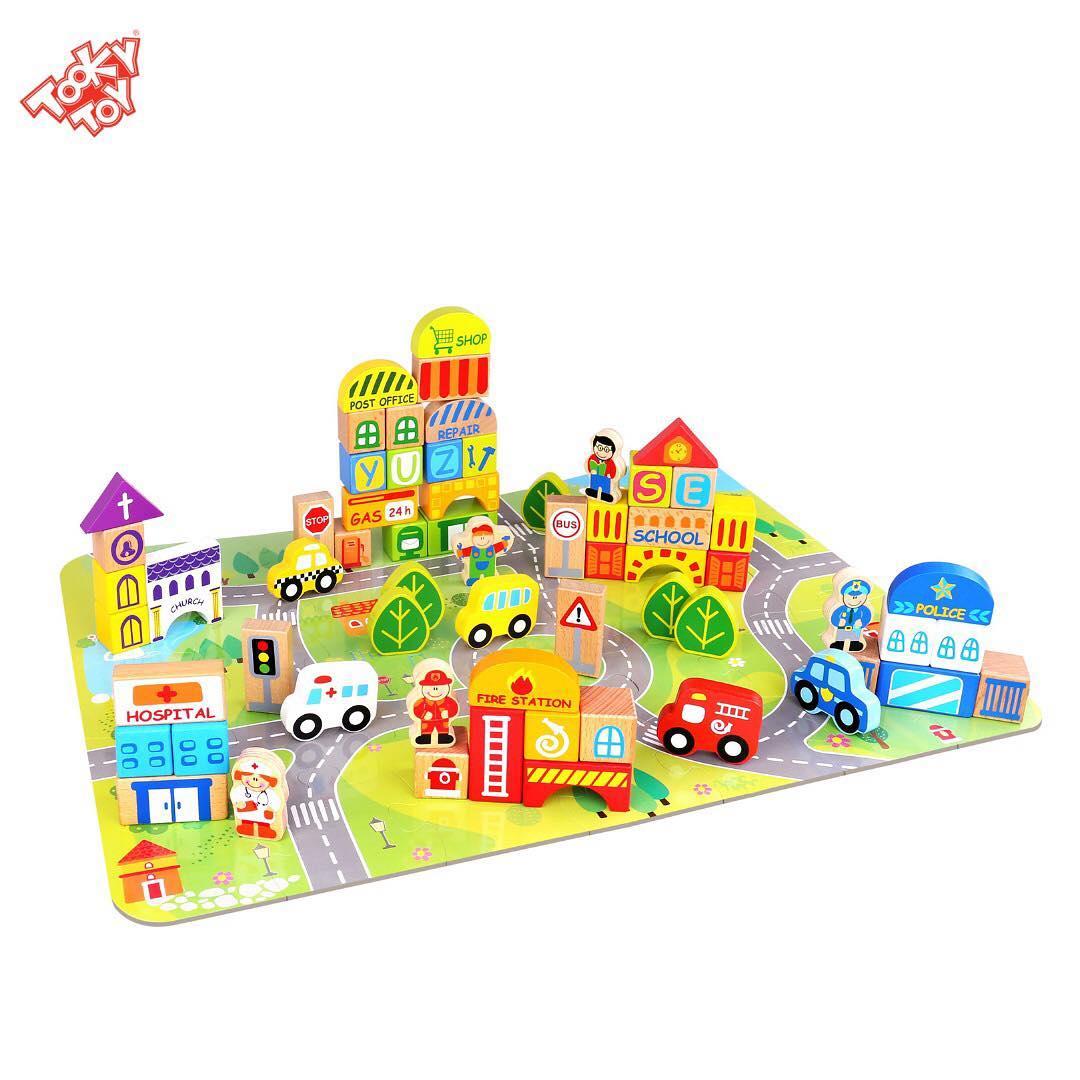 Blocos Cidade - 100 peças