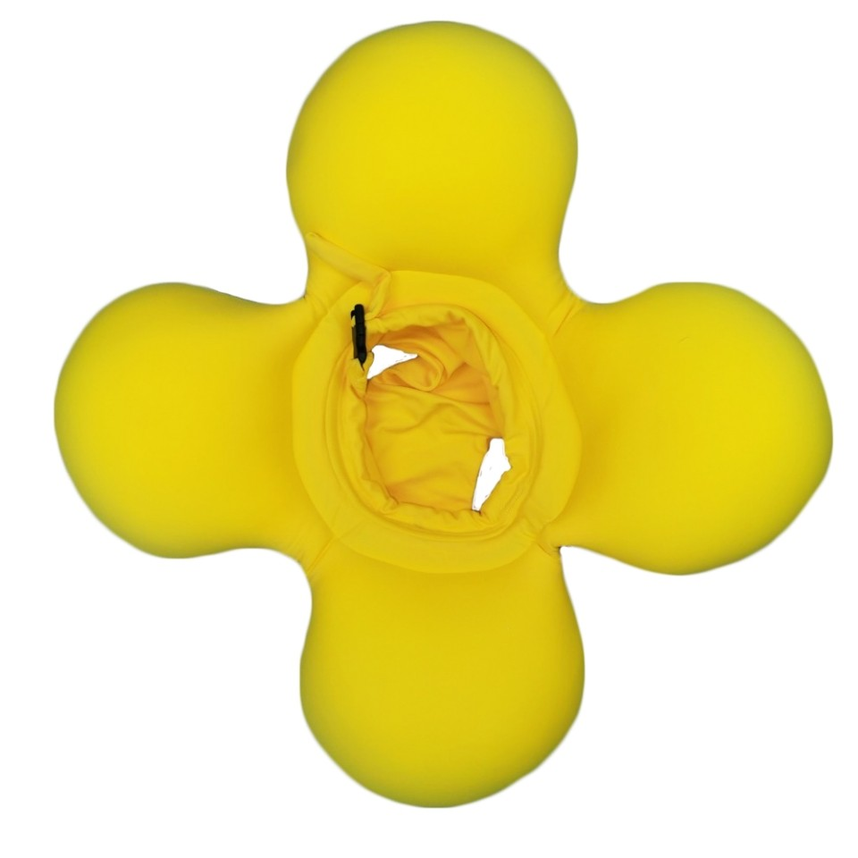 Boia de Piscina Octopus Amarela