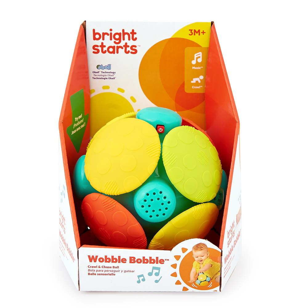Bola de engatinhar Wobble Bobble Crawl & Chase - Bright Starts