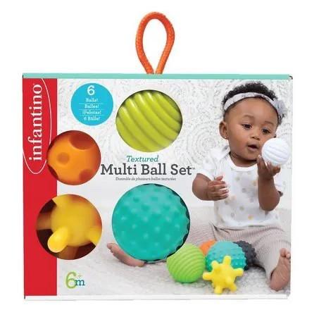 Bolas em silicone Texturizada - Infantino