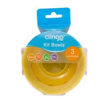 Bolws Colors - 3 unidades - Clingo