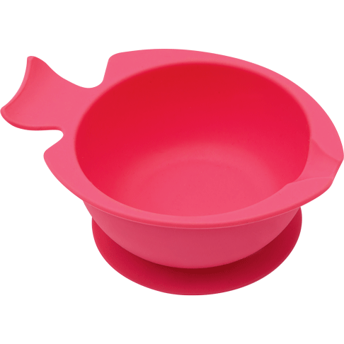 Bowl de Silicone com Ventosa Rosa - Buba