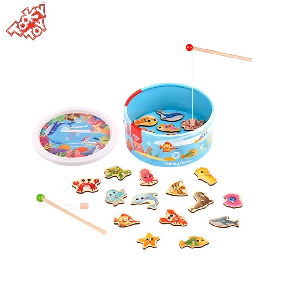 Brincando de Pescar - Com caixa