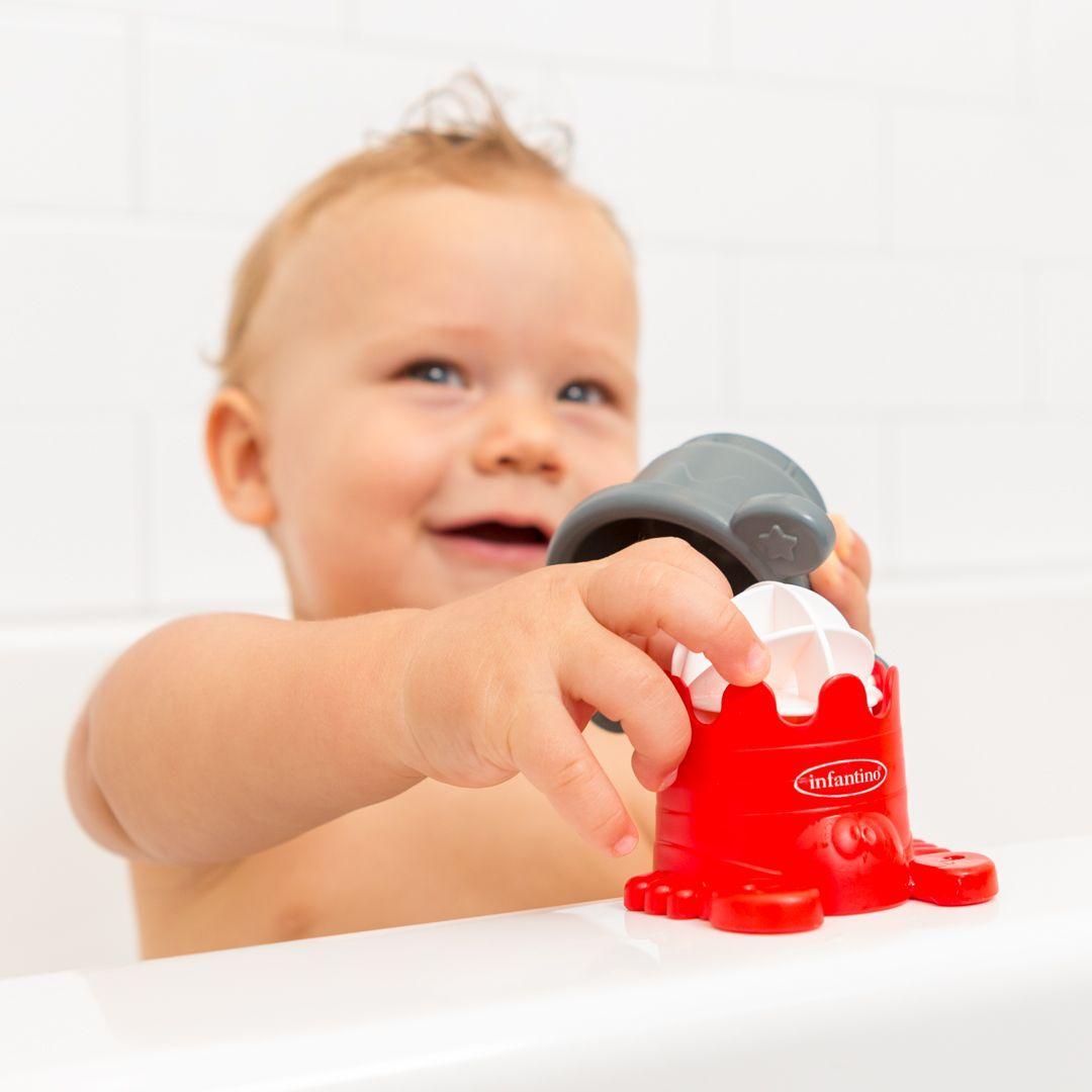 Brinquedo de Banho de Empilhar Interativo - Infantino