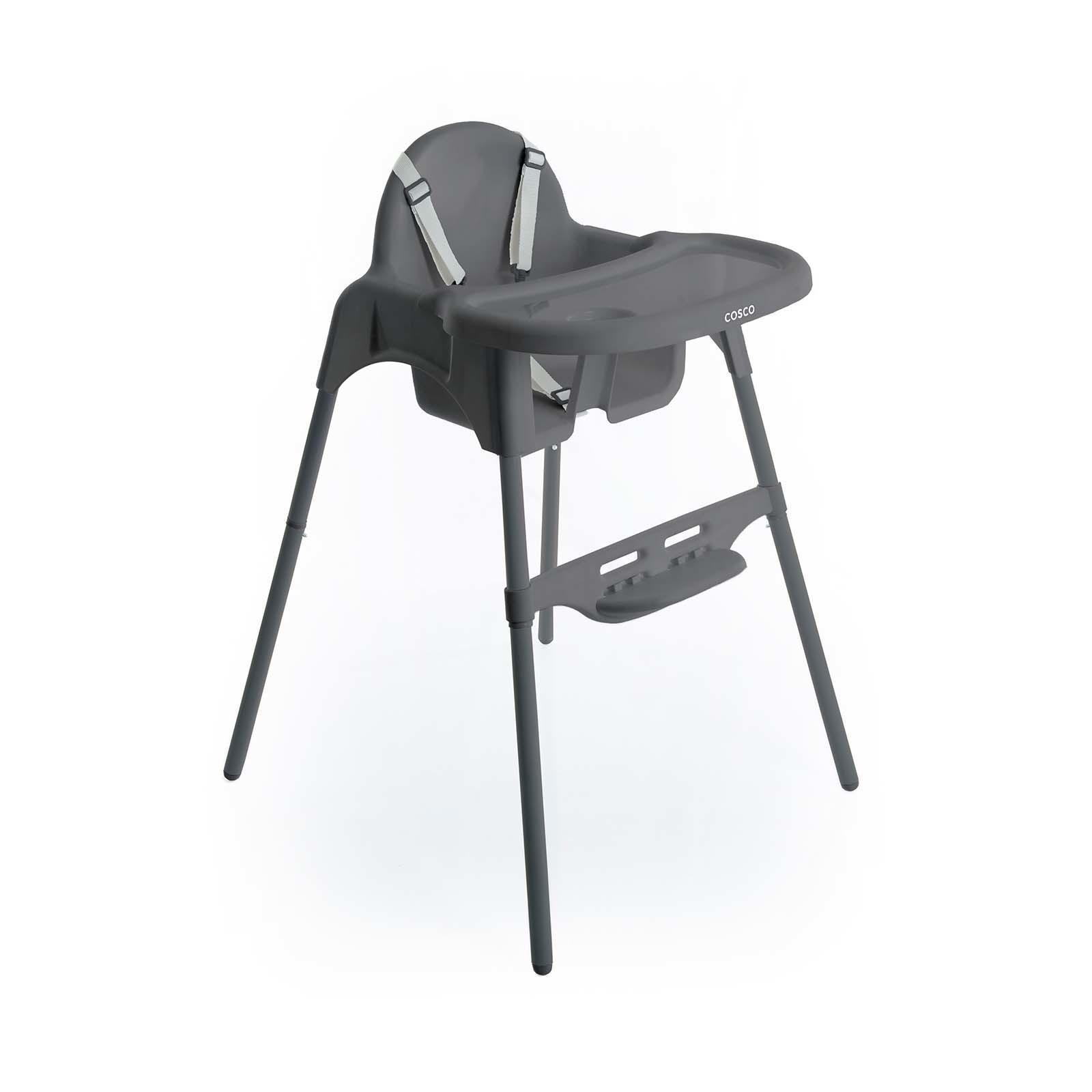 Cadeira de Refeição Cook Cinza - Cosco