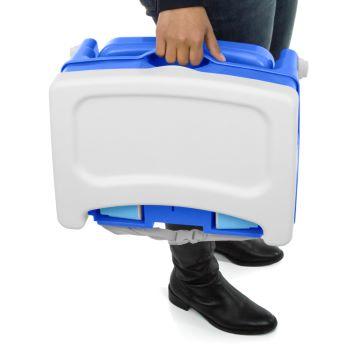 Cadeira de Refeição Portátil Smart Azul - Cosco