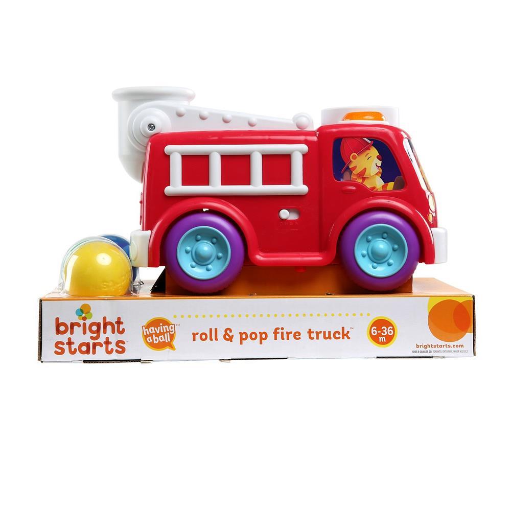 Caminhão de Bombeiro Roll e Pop Fire Truck - Bright Starts