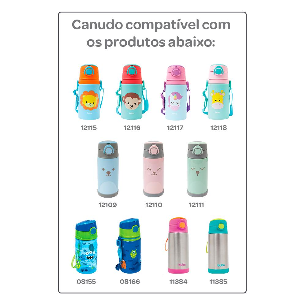 Canudo Repositor em silicone - Buba