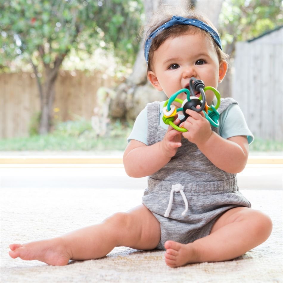 Chocalho Mordedor Flexível Órbita - Infantino