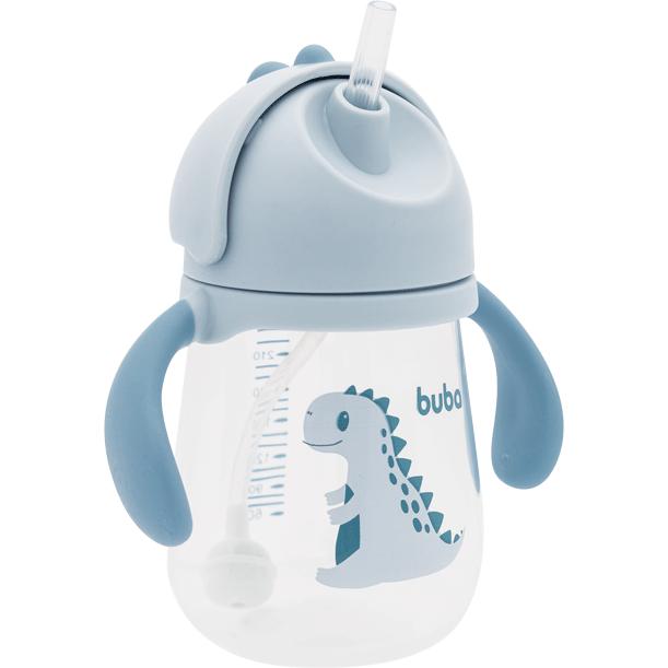 Copo Dino com Alça Azul - Buba